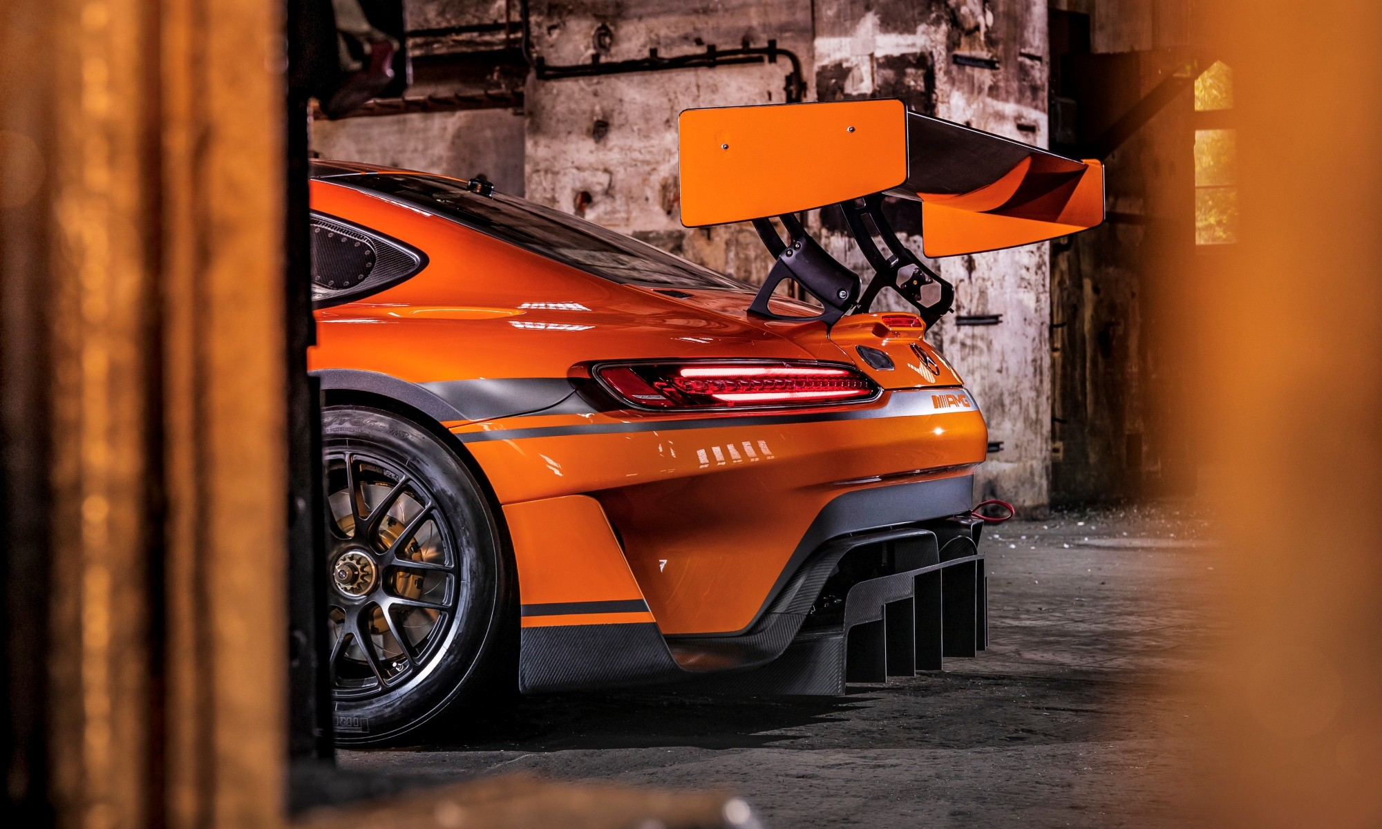 Mercedes-AMG GT3 rear wing