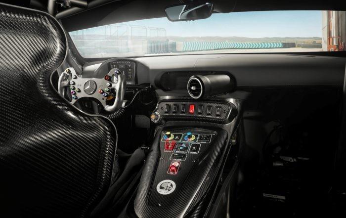 Mercedes-AMG GT4 interior 1