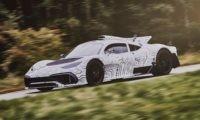 Mercedes-AMG One prototype undergoing testing