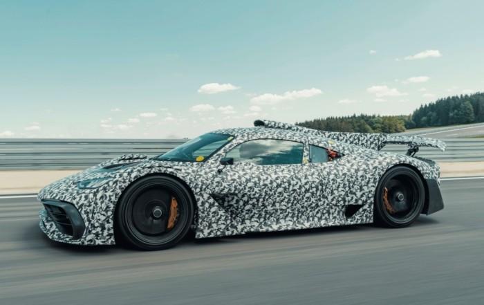 Mercedes-AMG One Undergoes Testing