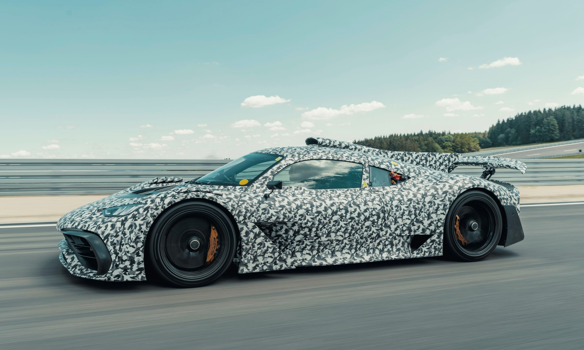 Mercedes-AMG One Undergoes Testing