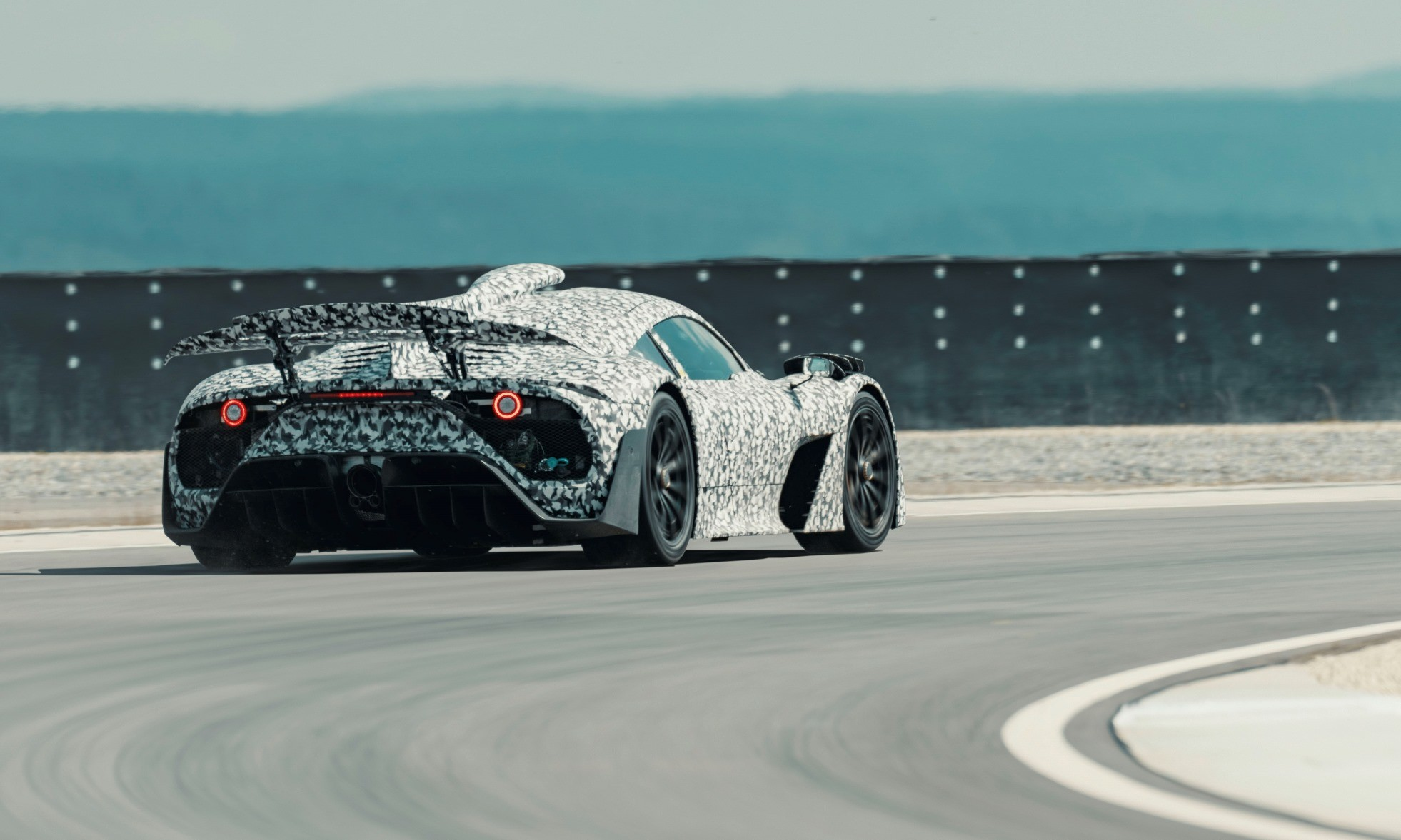 Mercedes-AMG Project One Undergoes Testing