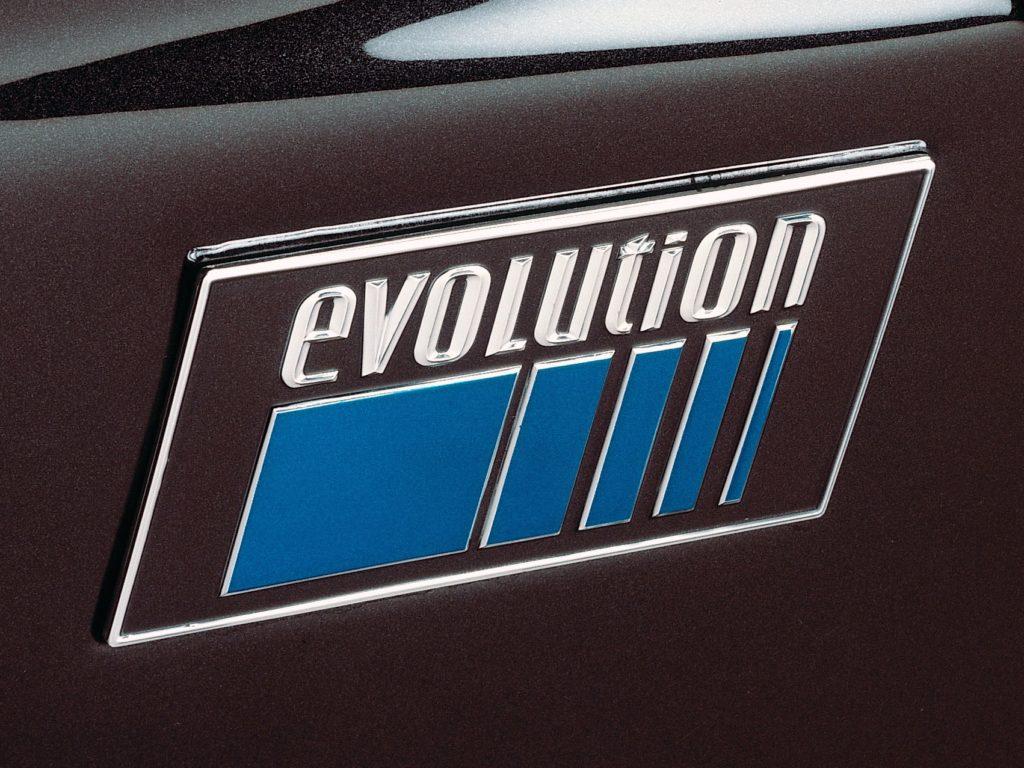 Mercedes-Benz 190E 2,5-16 Evo II badge