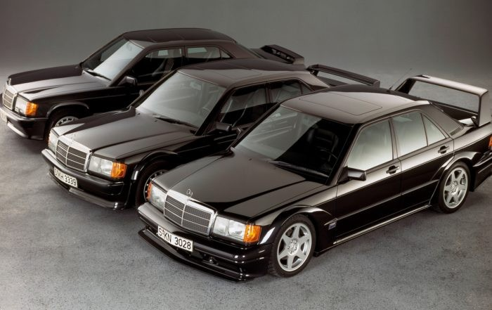 Mercedes-Benz 190E 2,5-16 Evo II family