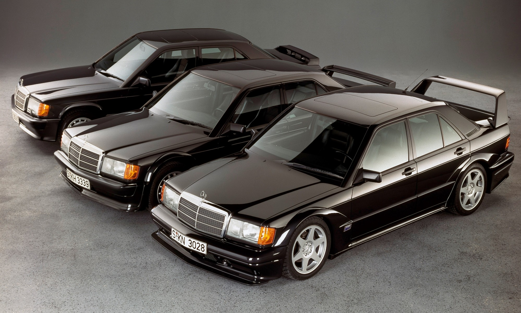 Mercedes-Benz 190E 2,5-16 Evo II family
