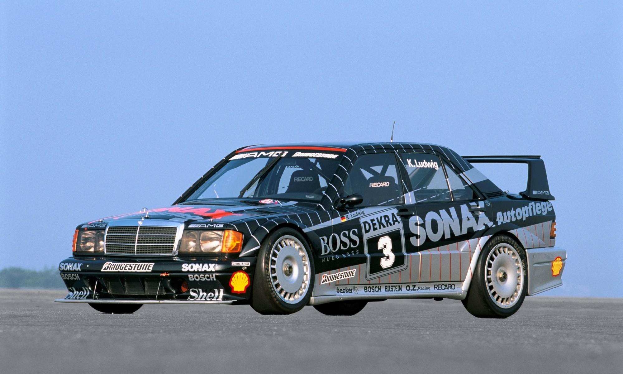 Mercedes-Benz 190E 2,5-16 Evo II racecar