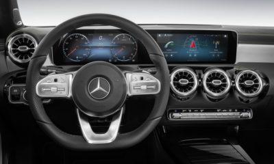 Mercedes-Benz A250 interior
