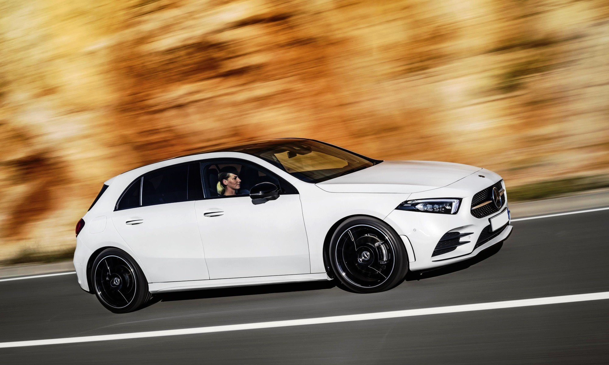 Mercedes-Benz A250 profile