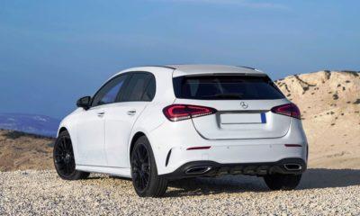 Mercedes-Benz A250 rear