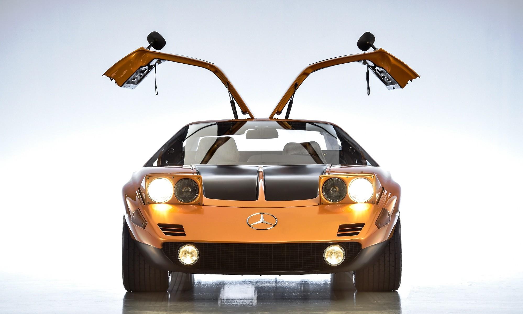 Mercedes-Benz C111 front