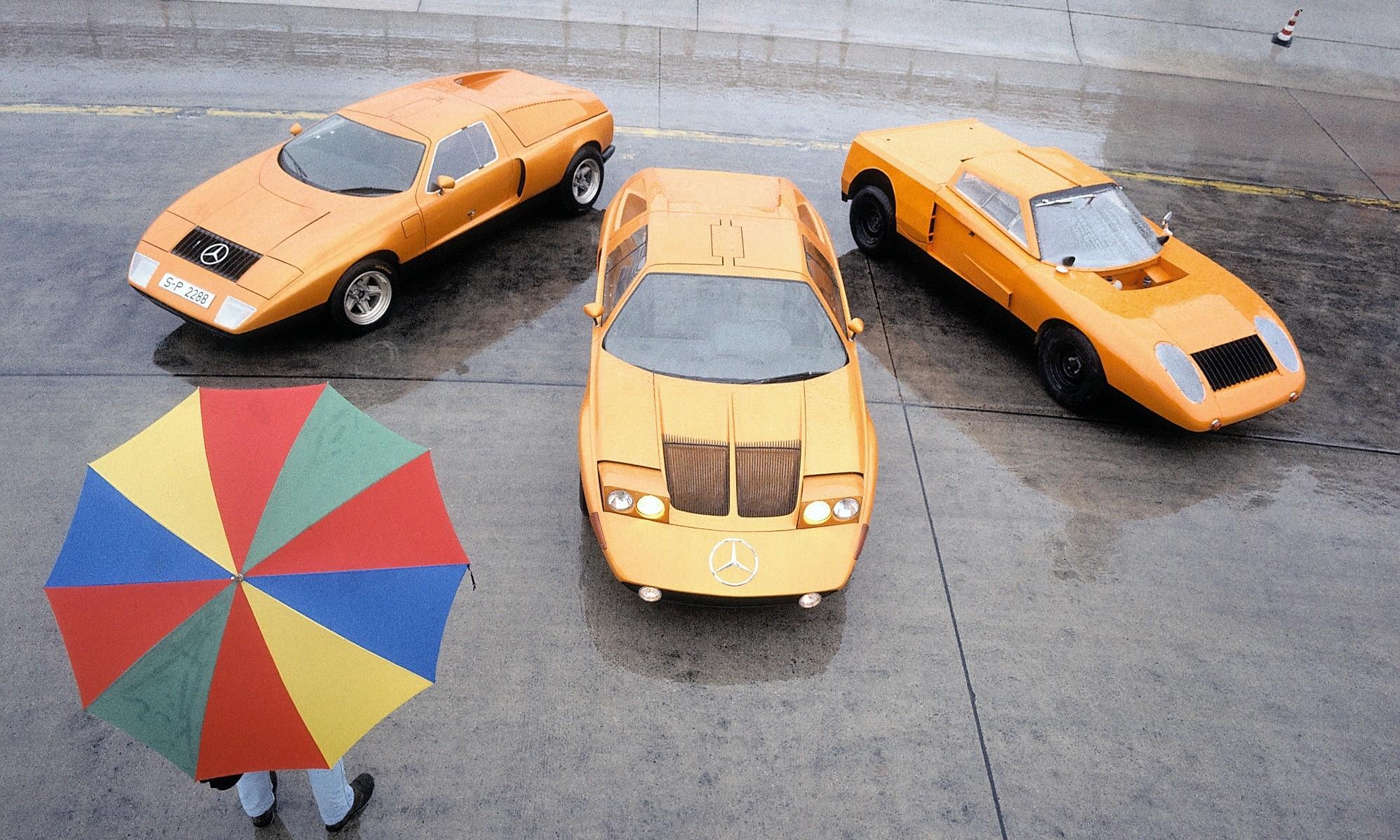 Mercedes-Benz C111 generations