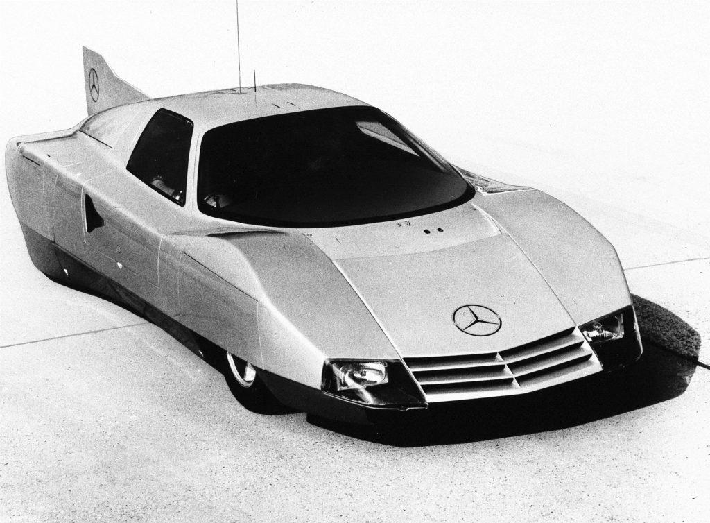 Mercedes-Benz C111 streamliner