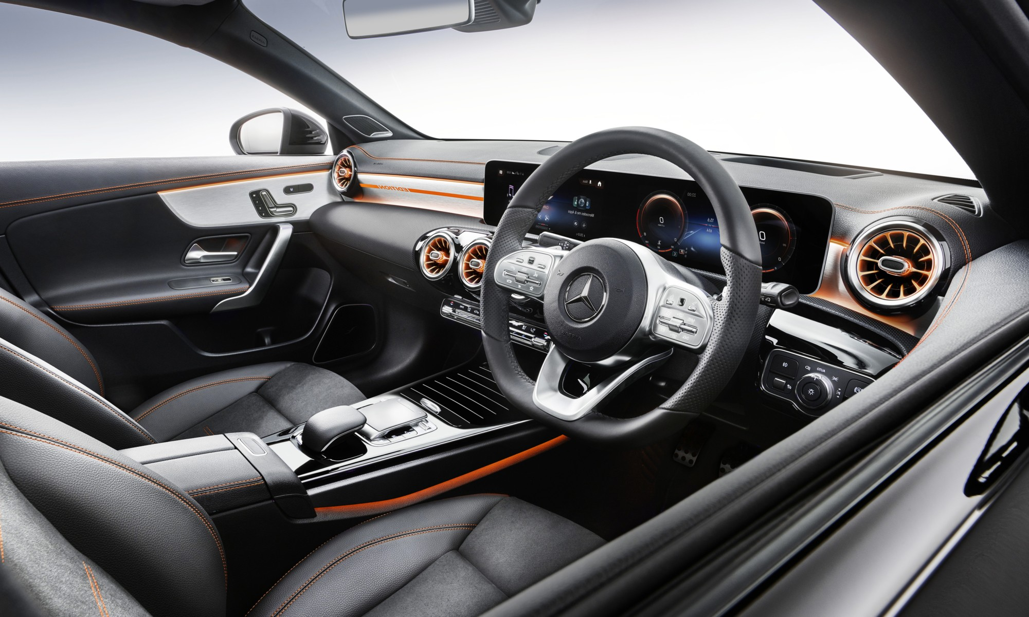 Mercedes-Benz CLA200 interior