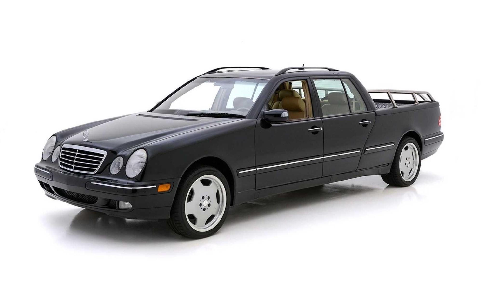 Mercedes-Benz E-Class bizarre bakkies