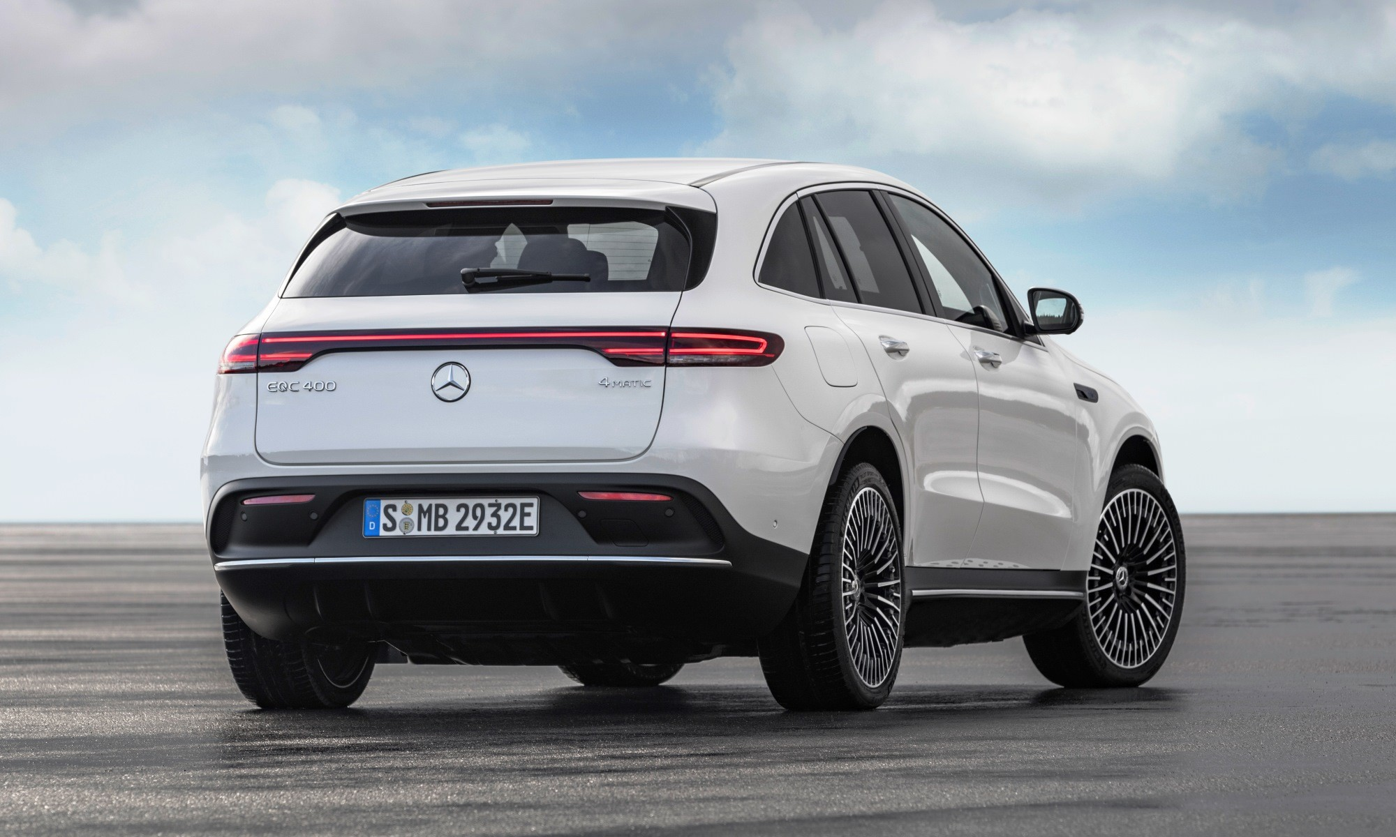 Mercedes-Benz EQC400 4Matic rear