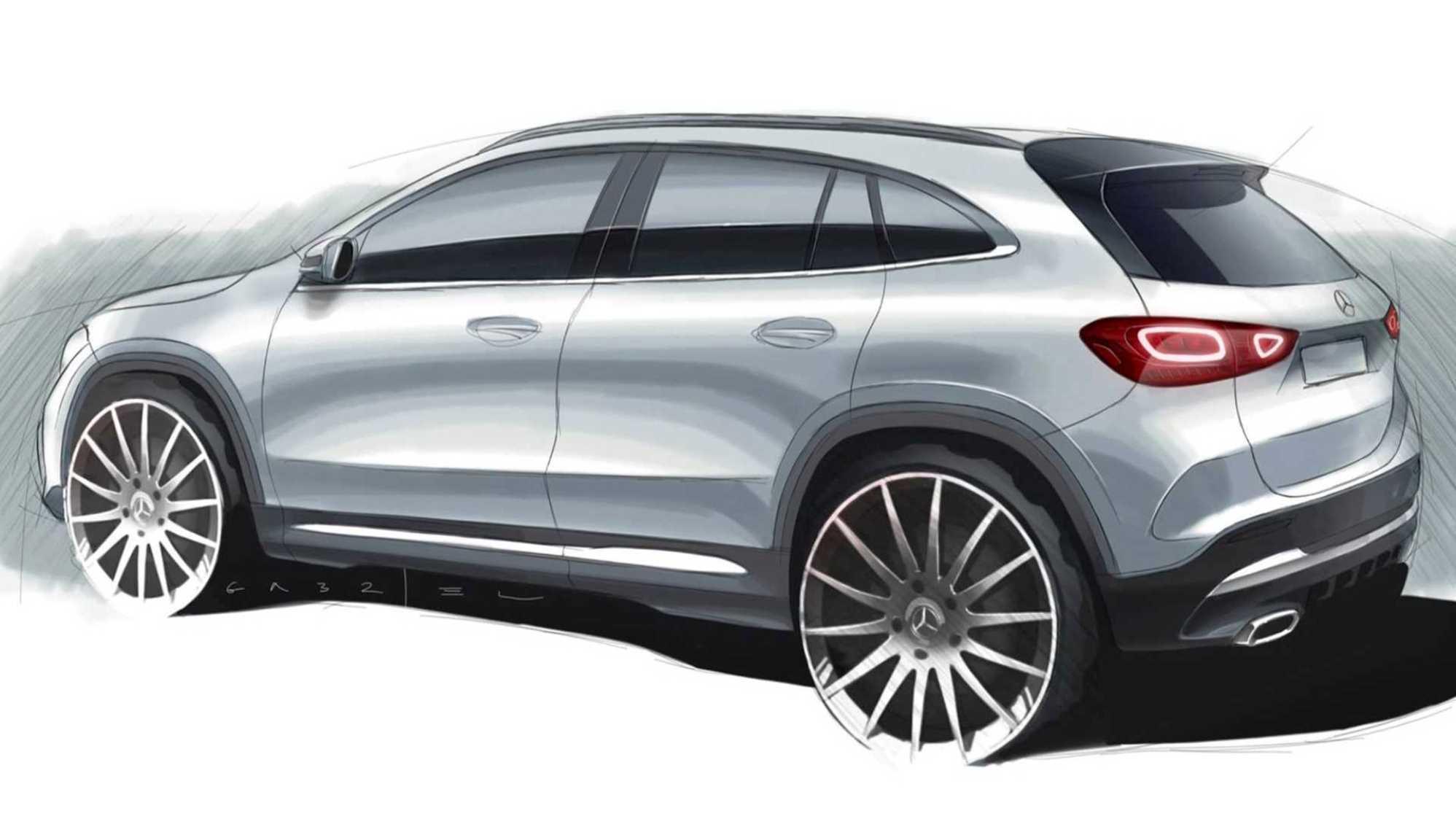 Mercedes-Benz GLA teaser