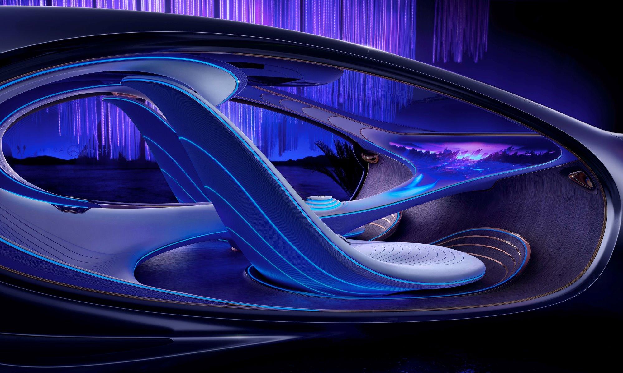Mercedes-Benz Vision AVTR cockpit