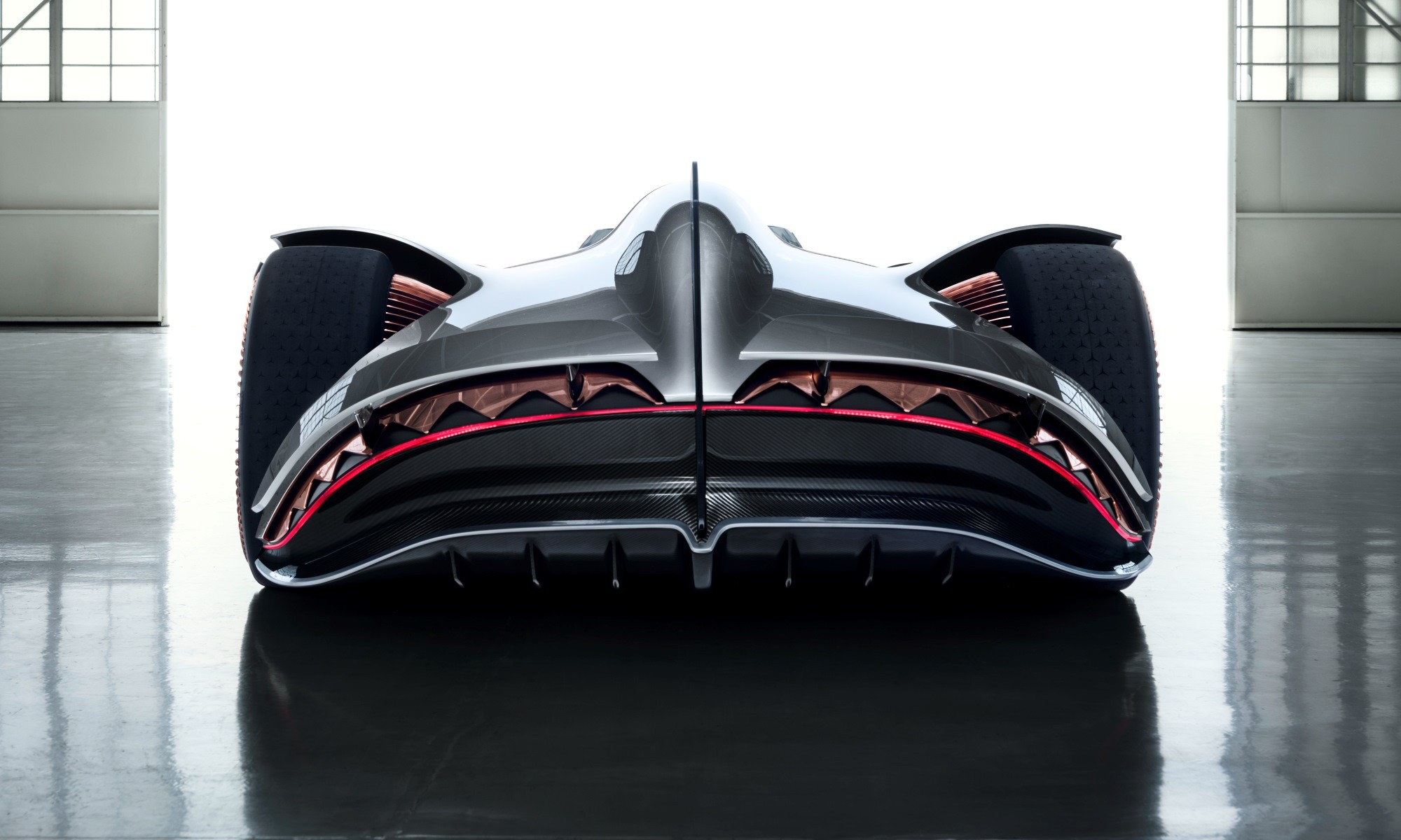Mercedes-Benz Vision EQ Silver Arrow rear