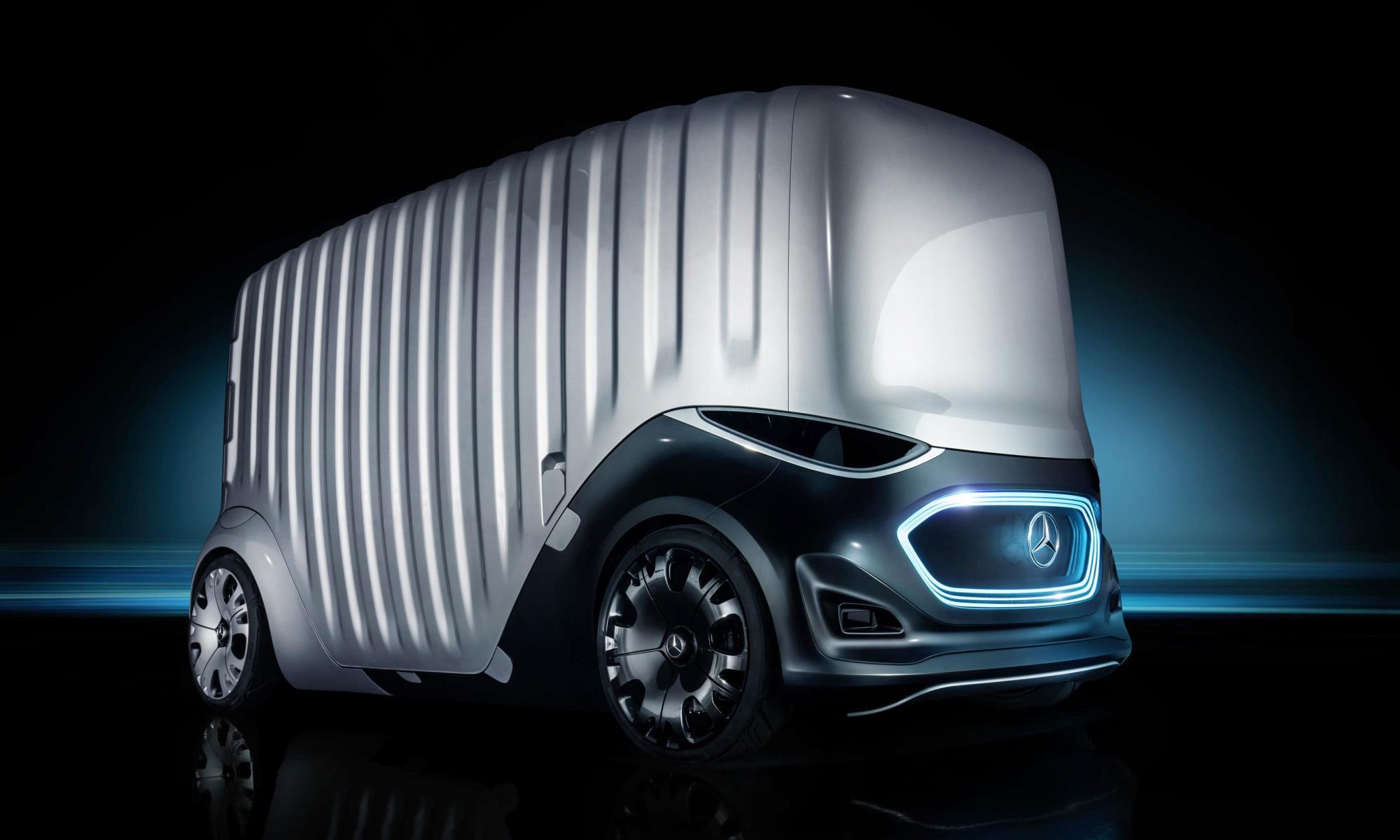 Mercedes-Benz Vision Urbanetic cargo van