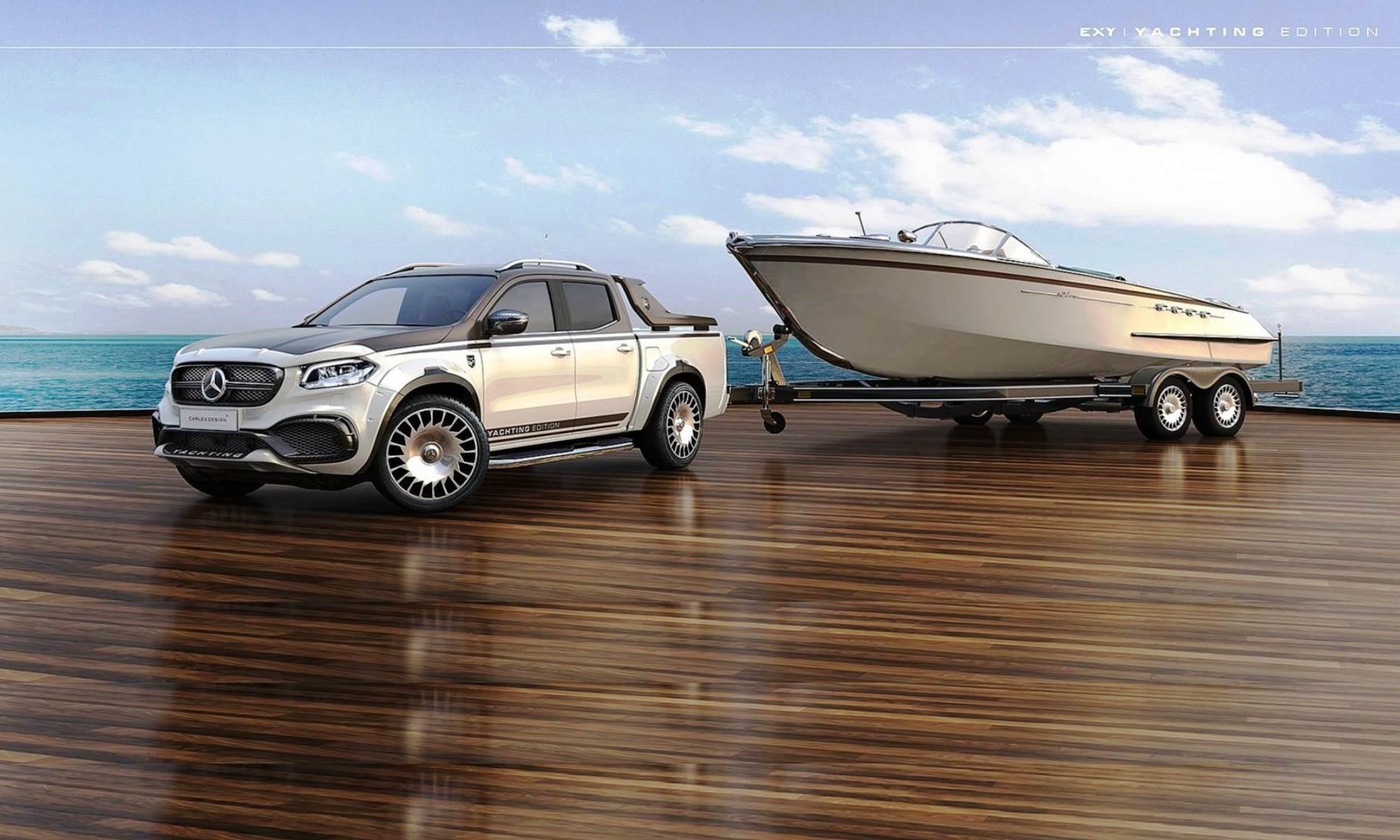 Mercedes-Benz X-Class Carlex Yachting Edition
