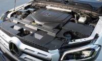 Mercedes-Benz X350d engine