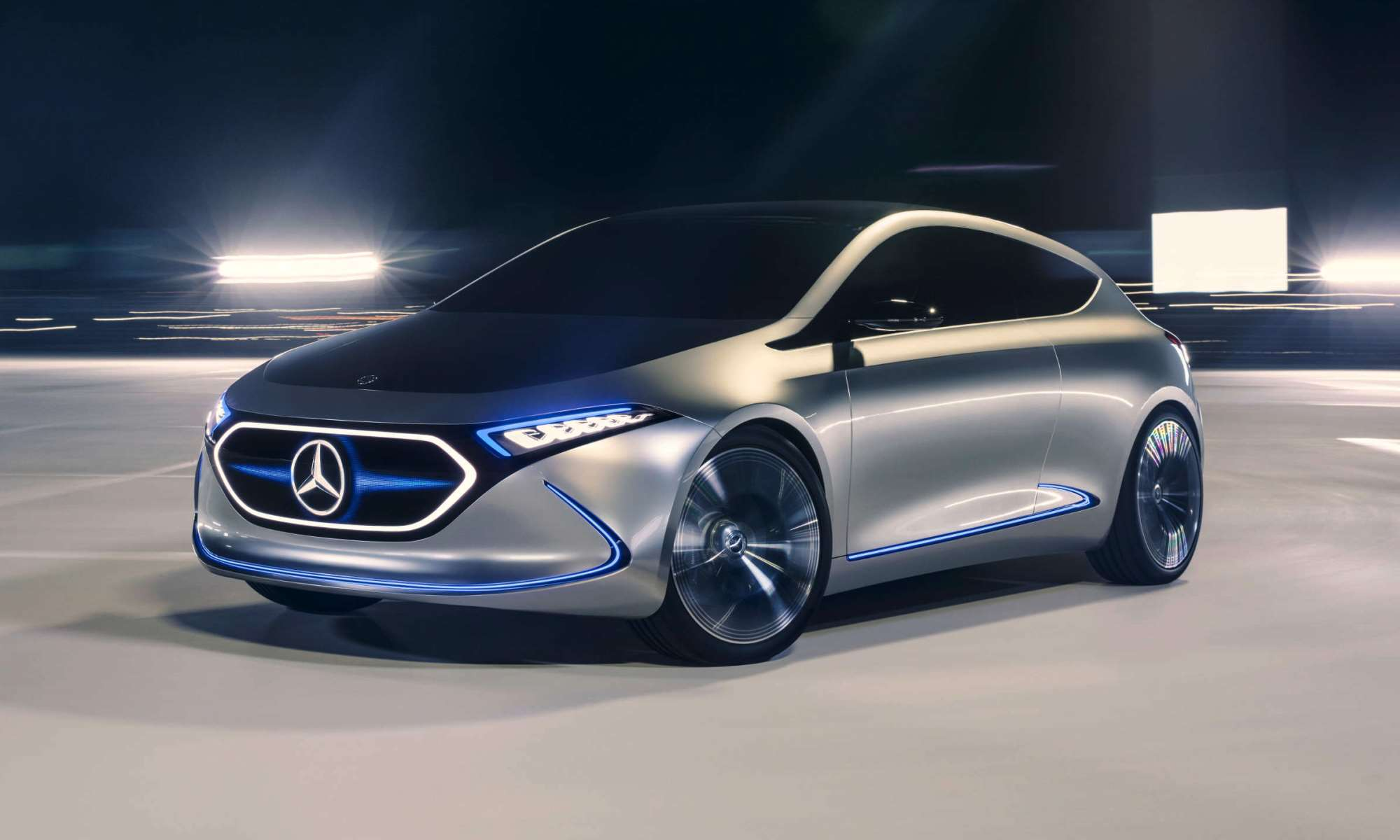 Mercedes-Benz Electric Future