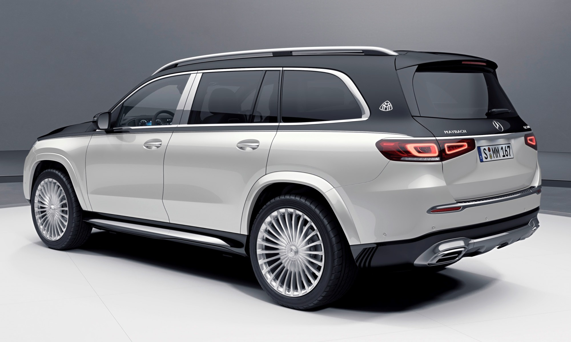 Mercedes-Maybach GLS600 rear