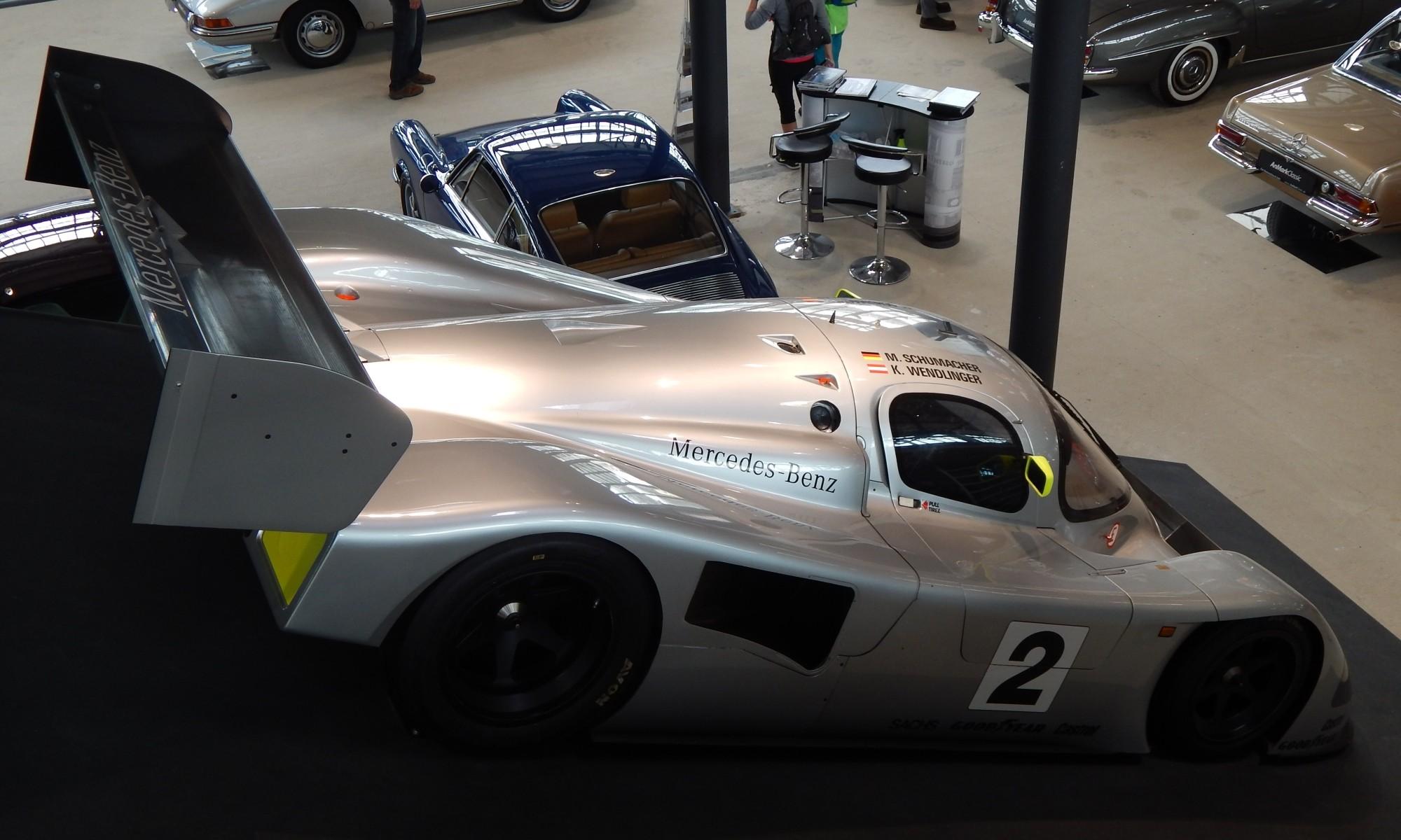 Mercedes sportcar