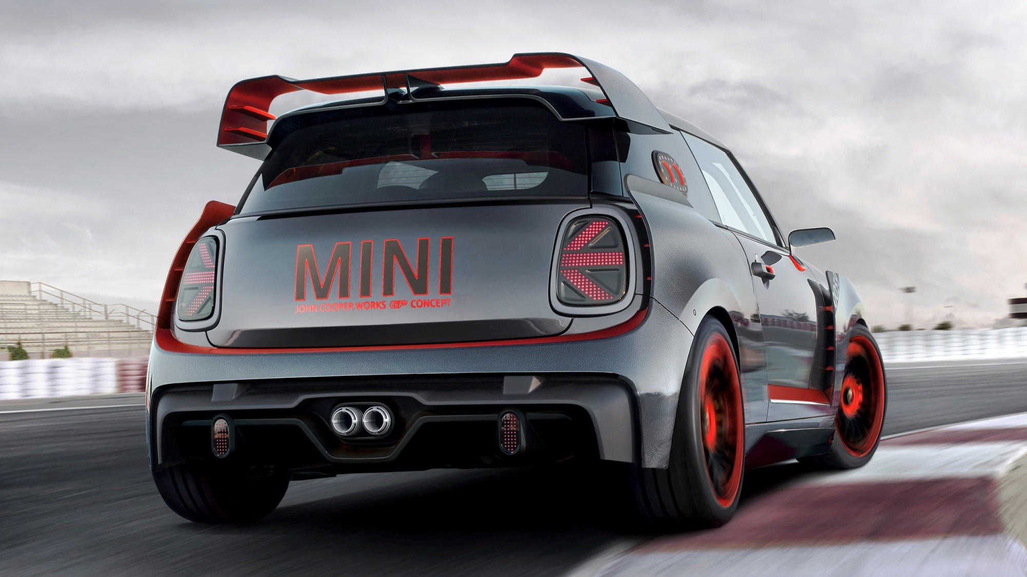 Mini JCW GP Concept rear
