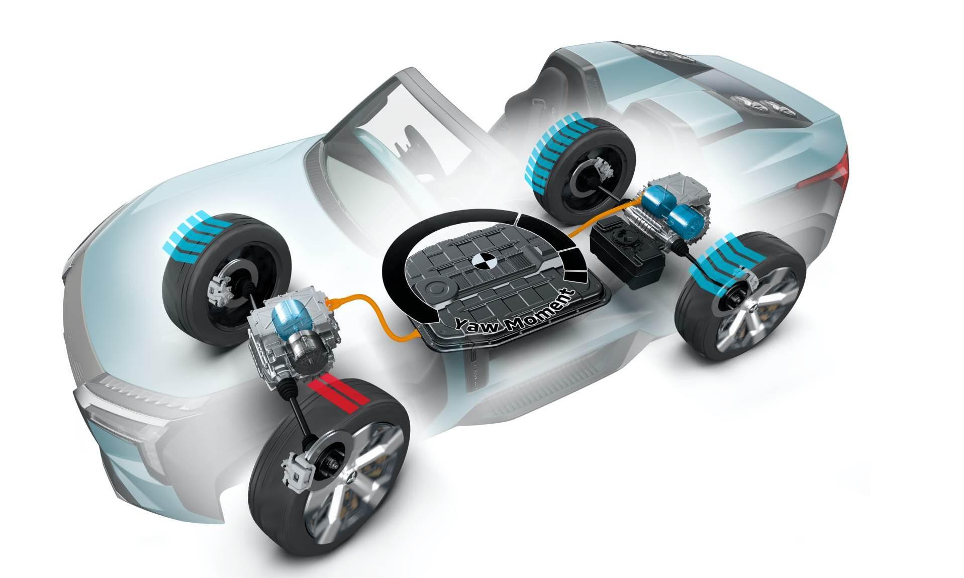 Mitsubishi MI-Tech Concept drivetrain