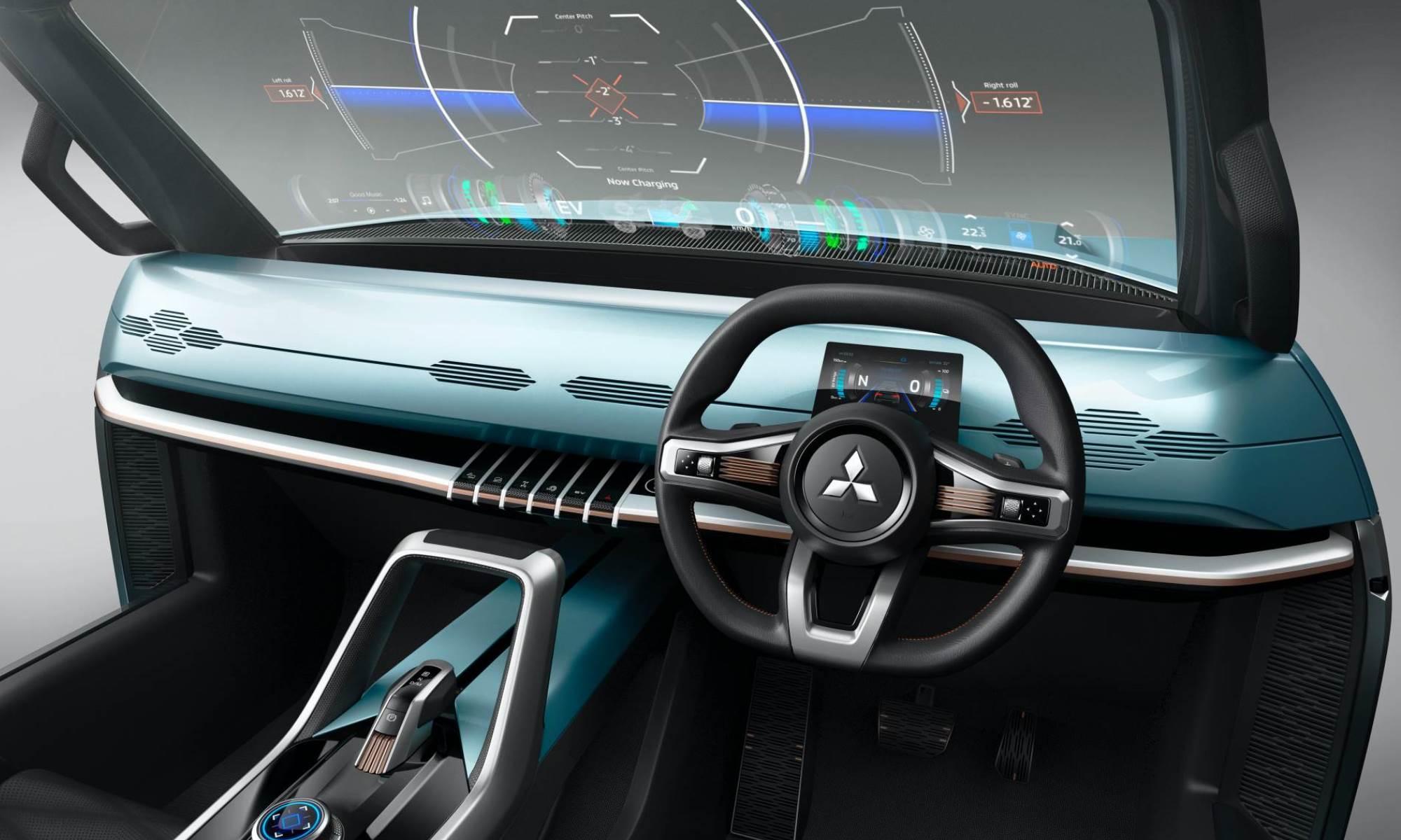Mitsubishi MI-Tech Concept interior