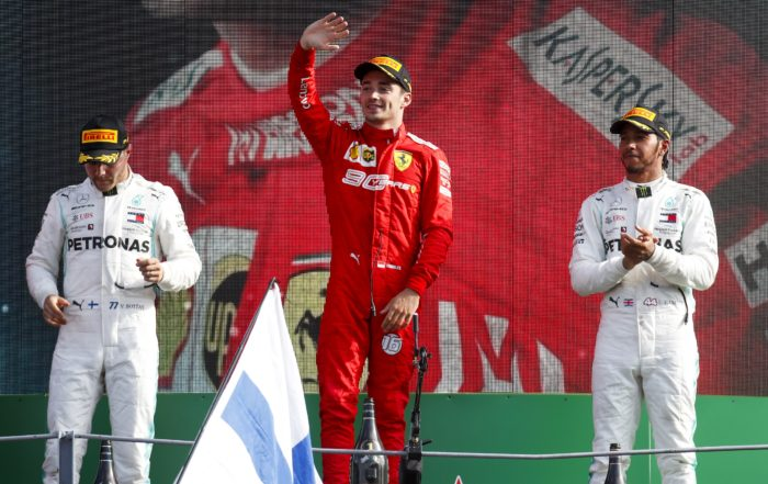 Charles Leclerc wins his second grand prix on the trot.