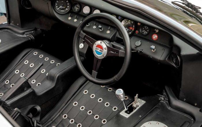 Movie GT40 interior