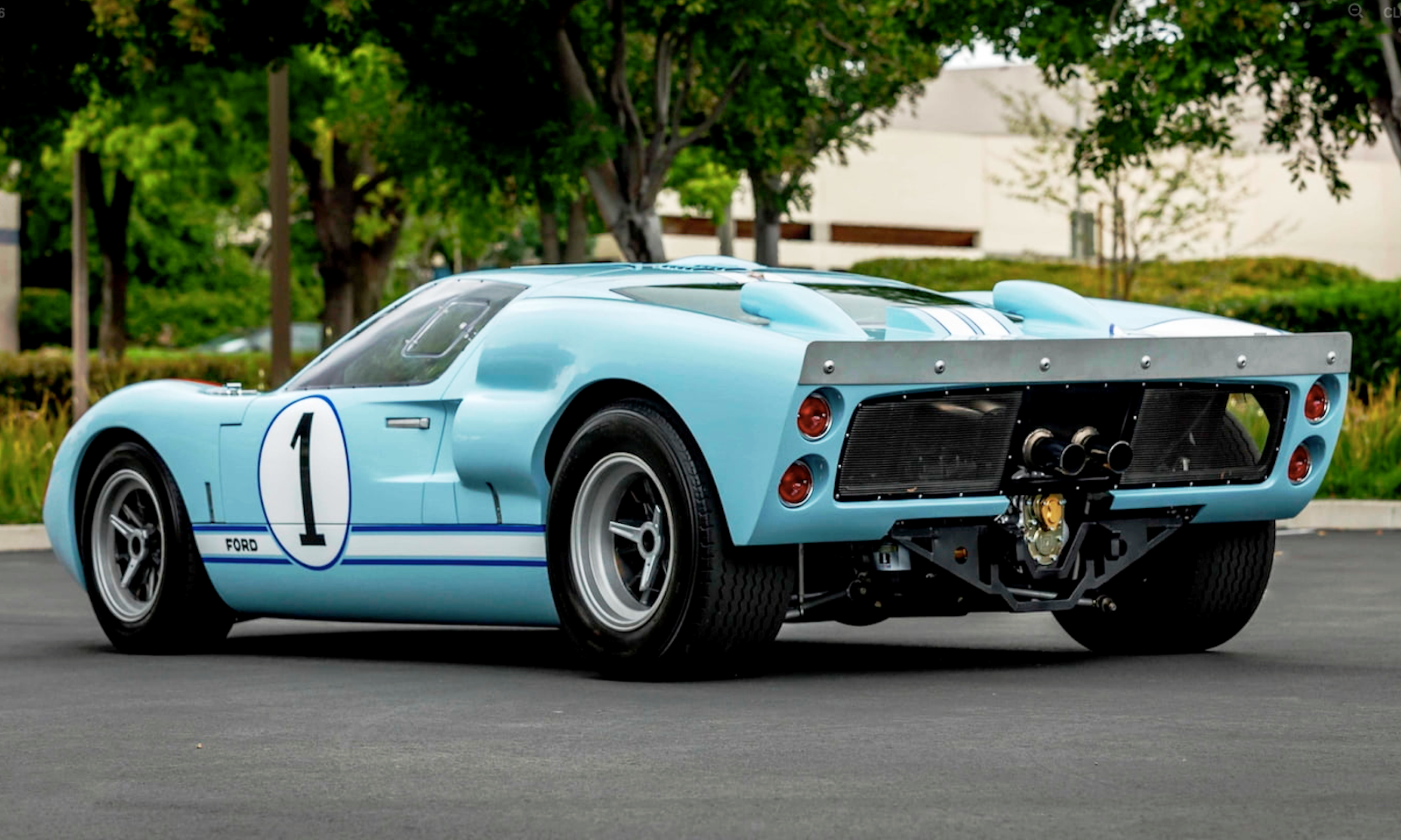 Movie GT40 rear