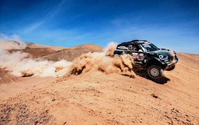 Nani Roma was second on Dakar Rally stage 7