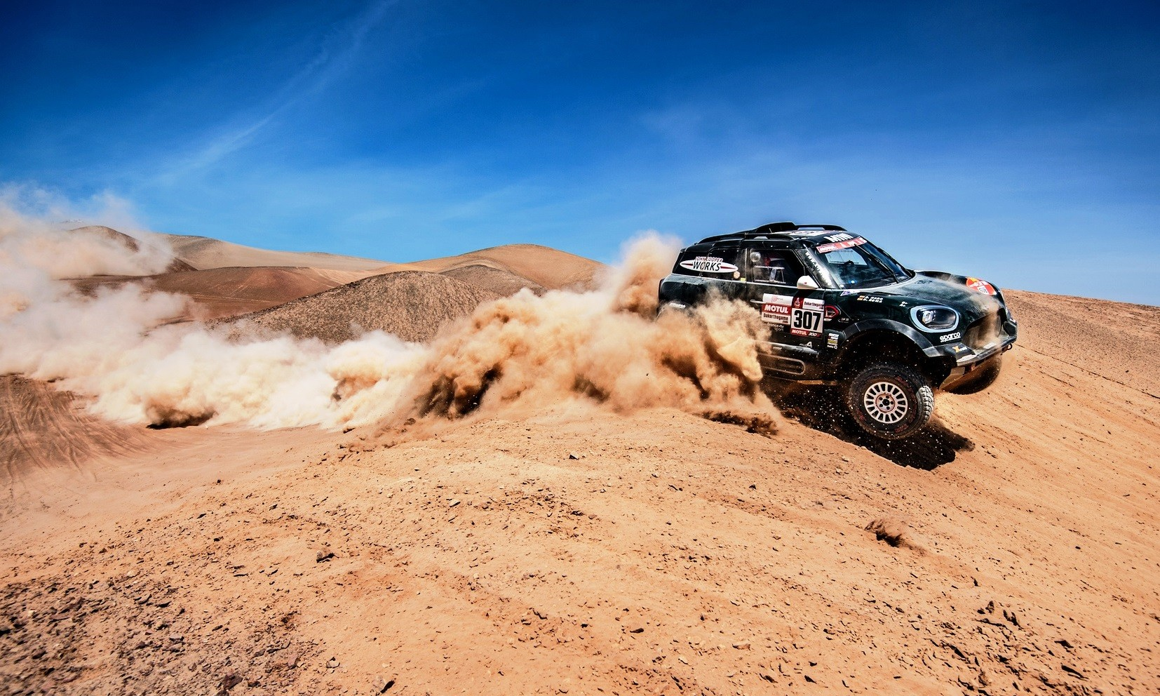 Nani Roma was second on Dakar Rally stage 7