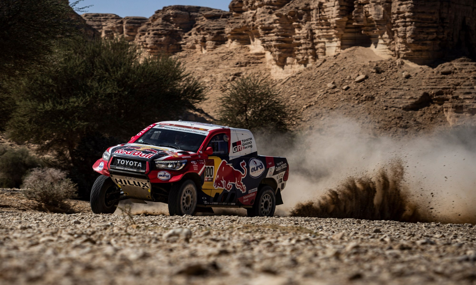 Nasser Al-Attiyah closed the gap to the overall leader on 2020 Dakar Stage 9