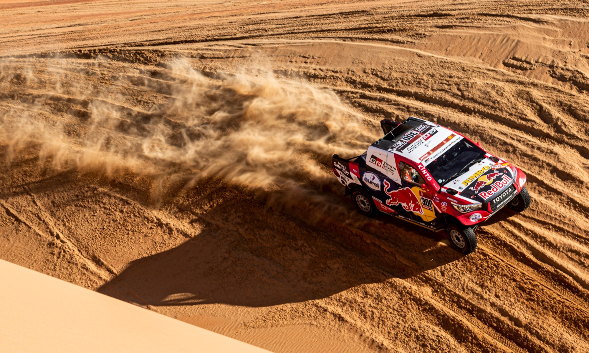 Nasser Al-Attiyah finished 10 seconds behind the winner on 2020 Dakar stage 11
