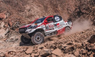 Nasser Al-Attiyah grabbed the lead early in Dakar Rally stage 8