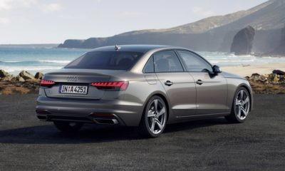 New Audi A4 rear