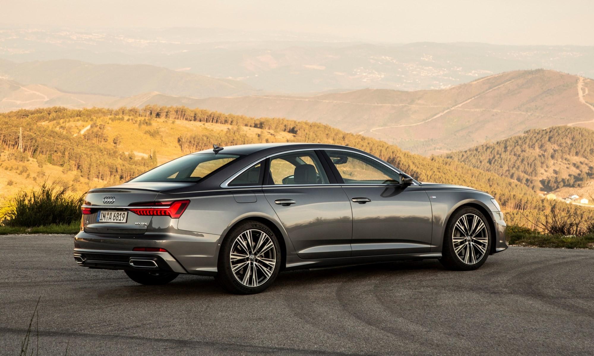 New Audi A6 rear