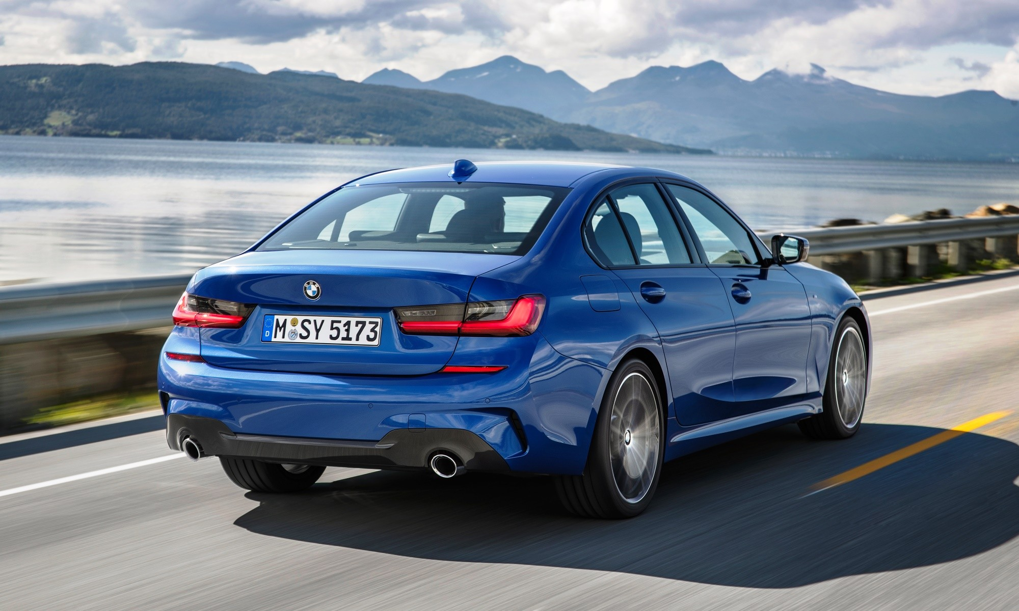 New BMW 3 Series rear