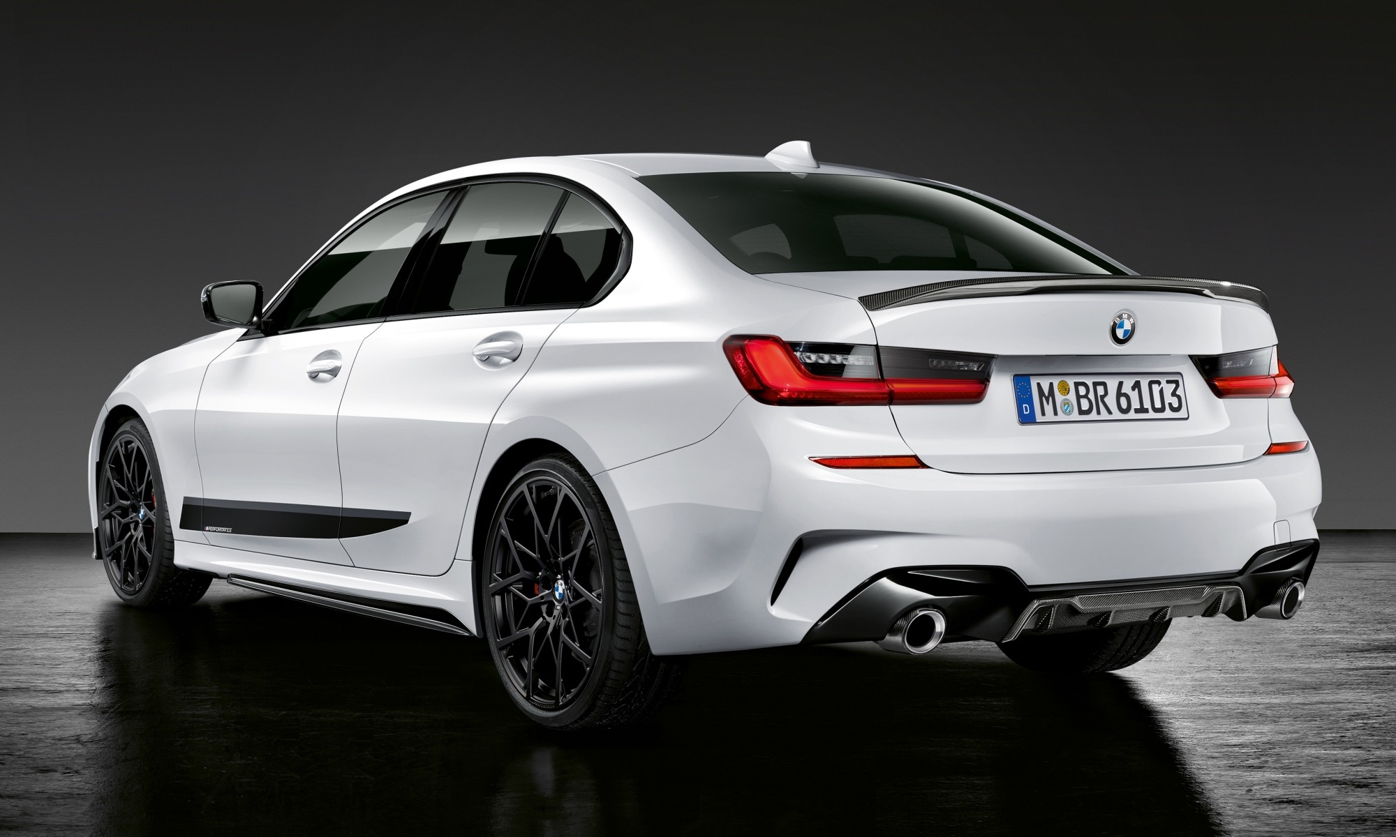 New BMW 3 Series with Performance Parts rear
