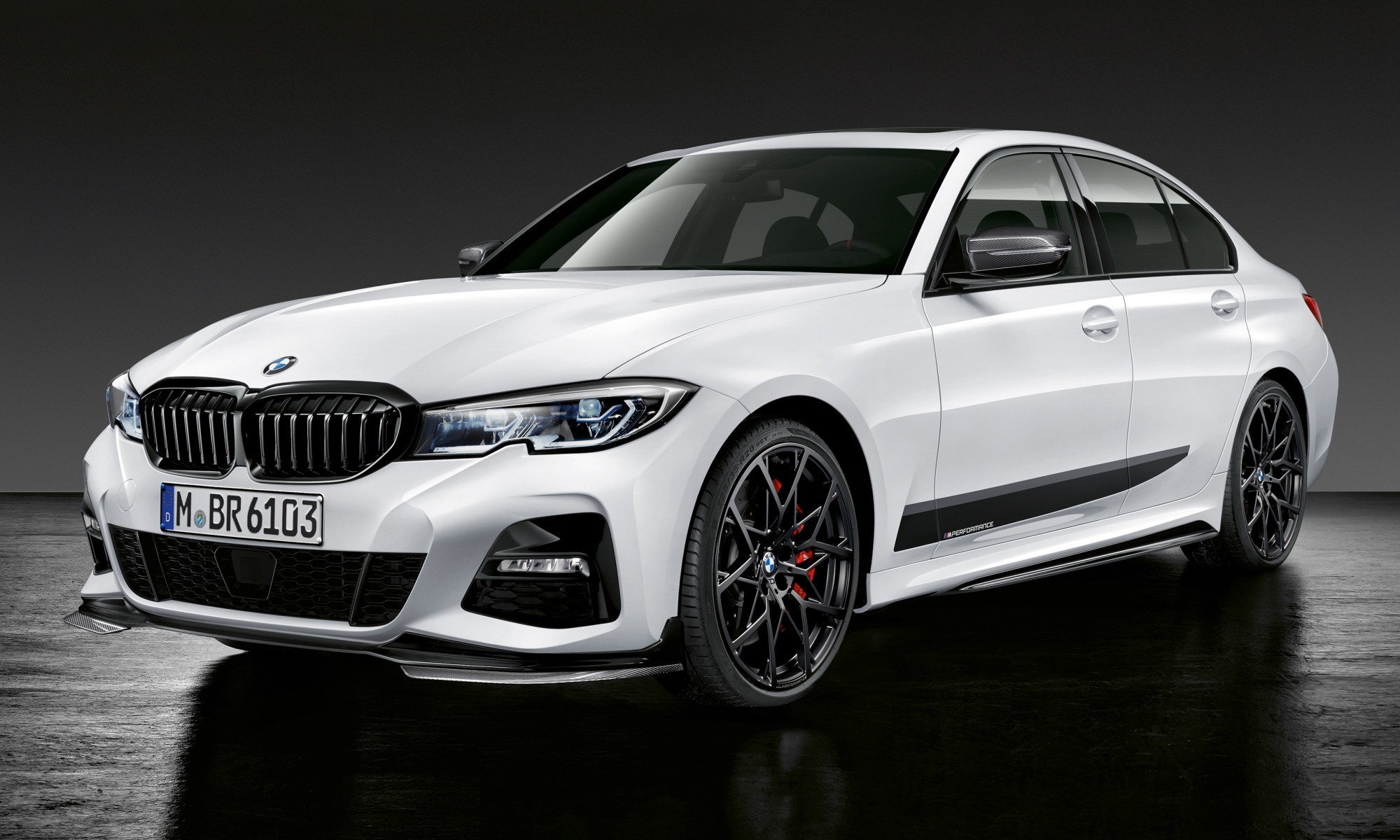 New BMW 3 Series with Performance Parts