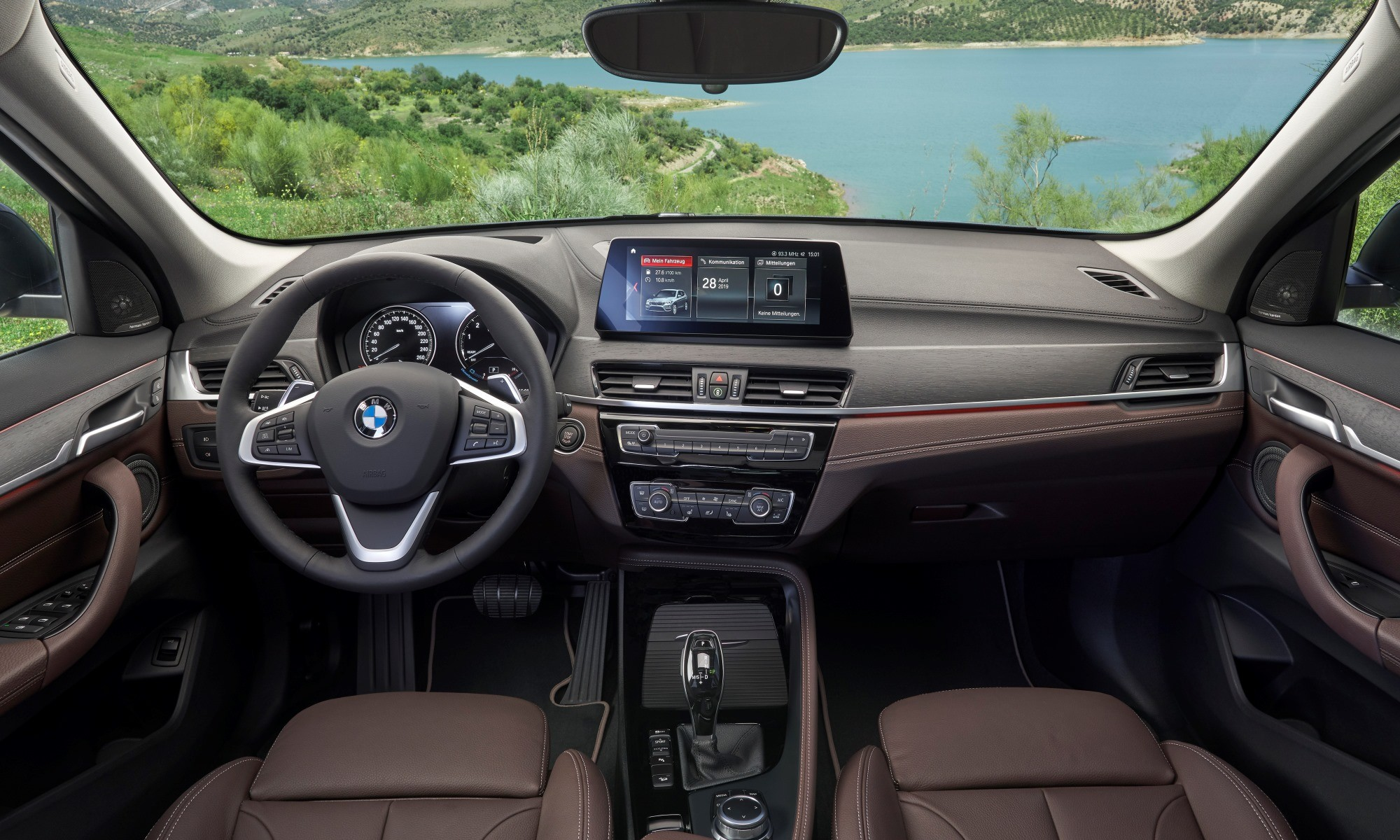 New BMW X1 interior