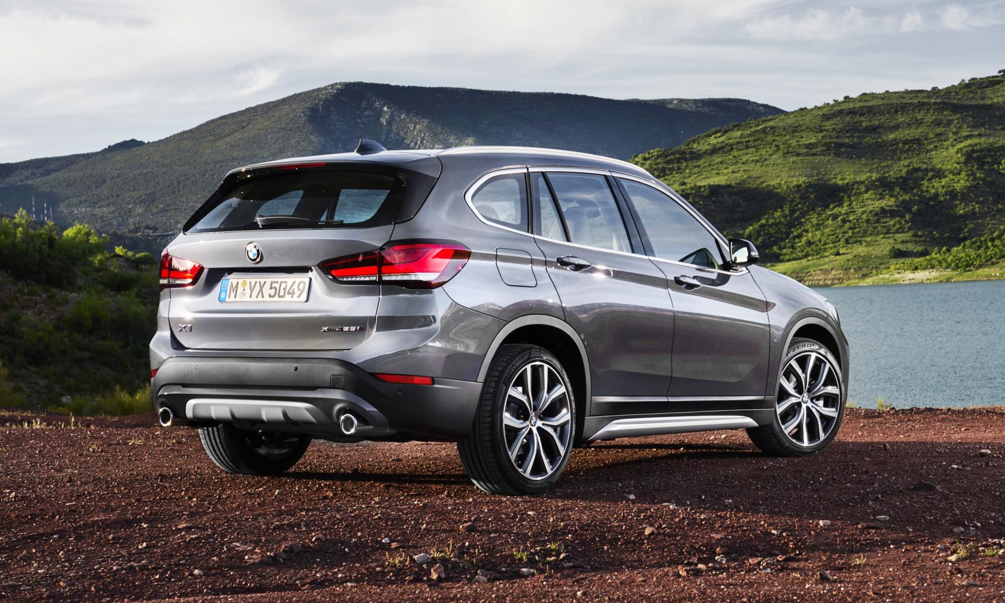 New BMW X1 rear
