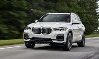 New BMW X5 driven