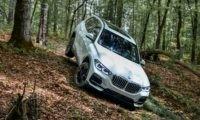 New BMW X5 off-road