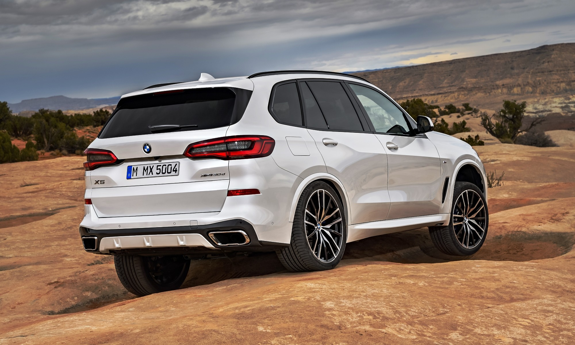 New BMW X5 rear