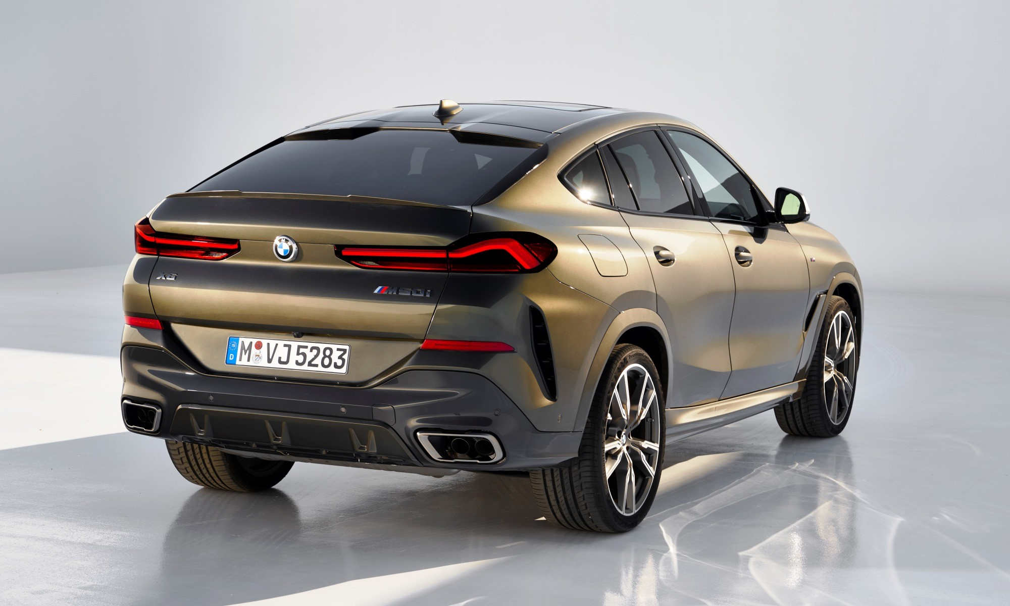 New BMW X6 rear